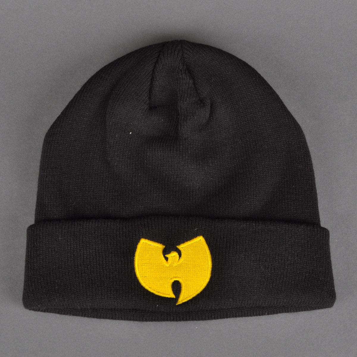 Wu-Tang beanie black / yellow   Beyond
