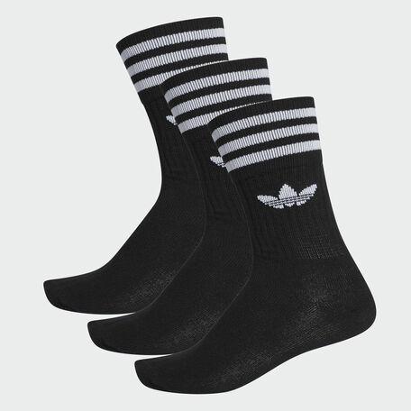 quality design 212ea 69b25 adidas Originals. adidas Solid Crew sock 3 pack ...